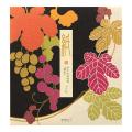 【ポストカードプレゼント】便箋 シルク 葡萄柄(85861006)