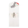 封筒 シルク 丹頂鶴柄(85874006)