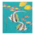 便箋 箔 熱帯魚柄(85889006)