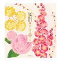 便箋 4柄入 冬の花柄(85941006)