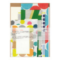 レターセット ガサガサ 5サイズ封筒 幾何学柄(86762006)