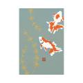 ポストカード 金魚柄(88516006)