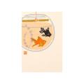 ポストカード 金魚玉柄(88533006)