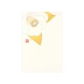 ポストカード 椿柄 白(88545006)