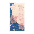 一筆箋 透かしシルク 桜舞柄(89418006)