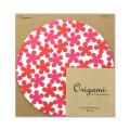 【イベント】オリガミ〈15丸〉 限定 花柄 赤