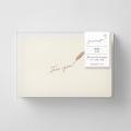 【限定】greetings カード フリー 羽ペン柄 <10枚セット>(91803618)