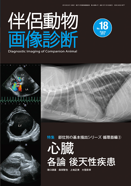 伴侶動物画像診断 No.18(2019年8月号)