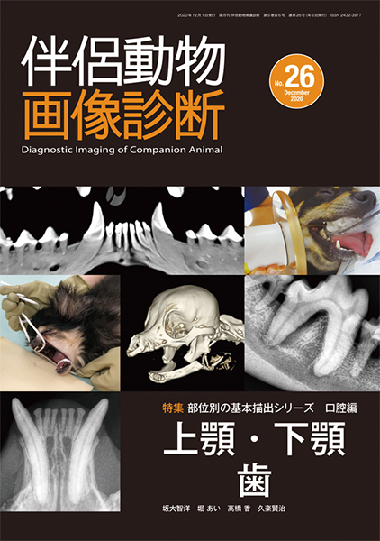 伴侶動物画像診断 No.26(2020年12月号)