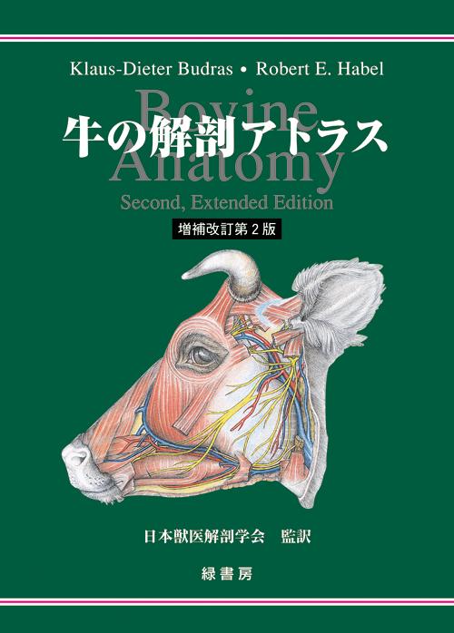 牛の解剖アトラス 増補改訂第2版