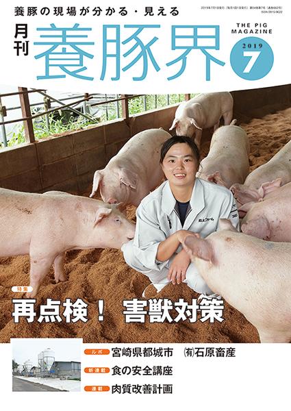 養豚界 2019年7月号