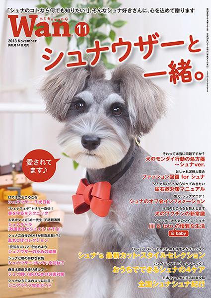 Wan 2018年11月号 10/12発売