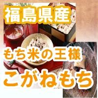 もち米の王様!29年 福島県産こがねもち 白米1キロ