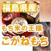 もち米の王様!元年 福島県産こがねもち 白米1キロ