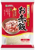【リニューアル】とがずに炊ける お赤飯!  北海道産小豆入り無洗米 2合