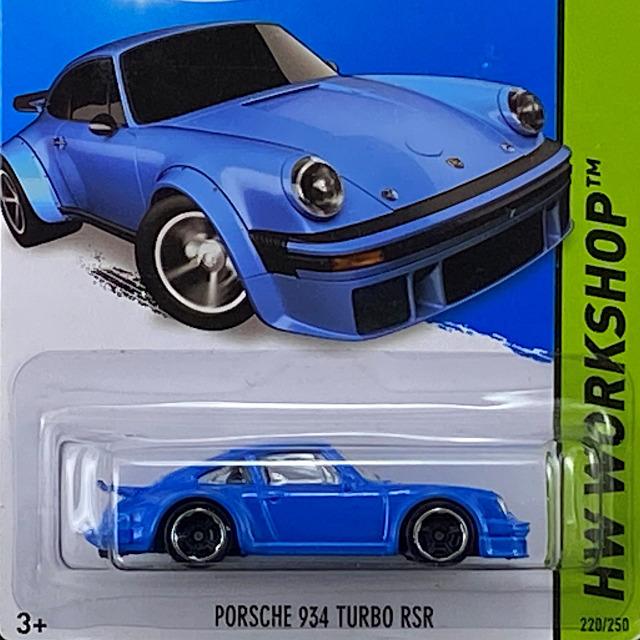Porsche 934 Turbo RSR/ポルシェ 934 ターボ RSR
