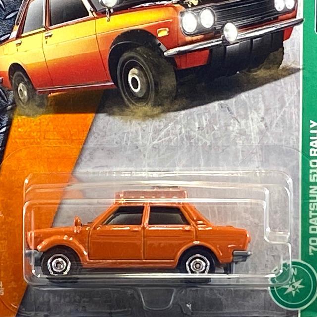 2017 MBX Explorers / '70 Datsun 510 Rally / '70 ダットサン 510 ラリー