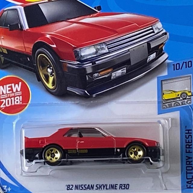 2018 HW Factory Fresh / 82 Nissan Skyline R30 / 82 ニッサン スカイライン R30