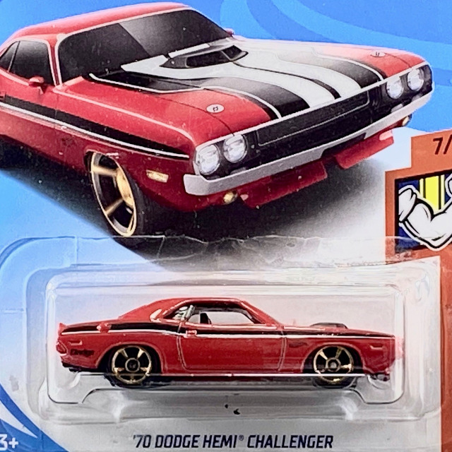 2018 Muscle Mania / '70 Dodge HEMI Challenger / '70 ダッジ ヘミ チャレンジャー
