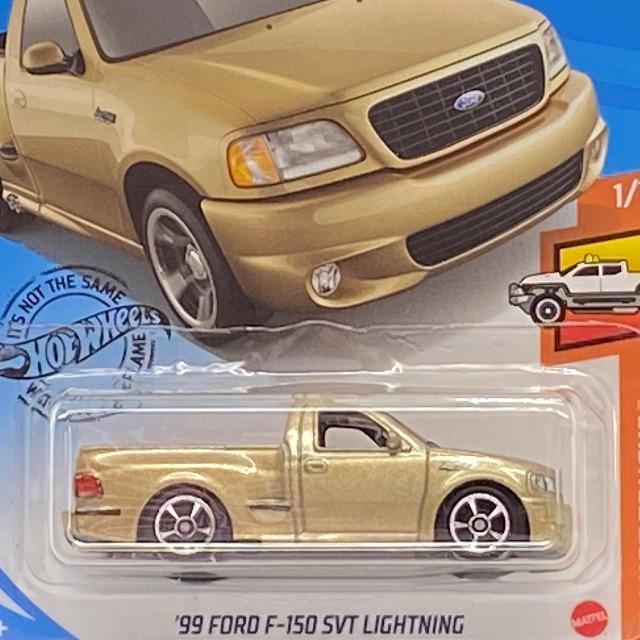 2020 HW Hot Trucks / '99 Ford F-150 SVT Lightning / '90 フォード F-150 SVT ライトニング