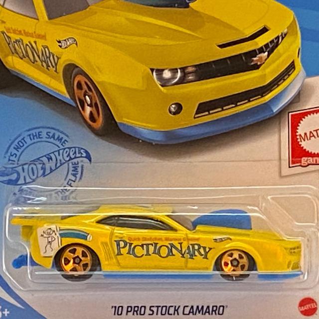 2021 Mattel Games / '10 Pro Stock Camaro / '10 プロストック カマロ