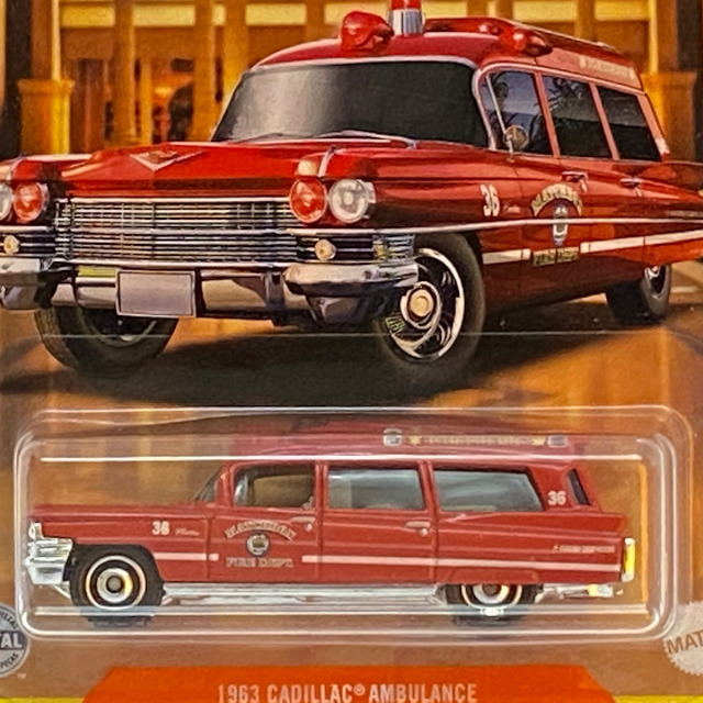 2021 MBX Cadillac Series / 1963 Cadillac Ambulance / 1963 キャディラック アンビュゥラァンス