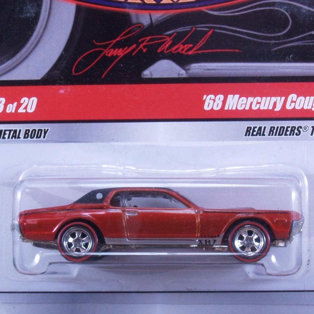 Larry's Garage : '68 Mercury Cougar (RED)