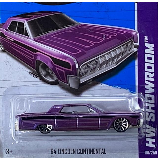 2013 HW Showroom Garage / 64 Lincon Continental / 64 リンカーン コンチネンタル