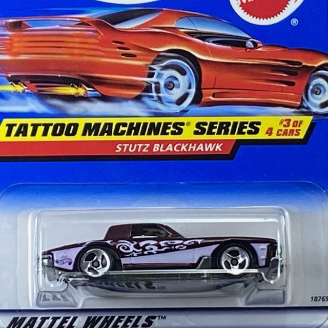 1998 HW Tattoo Machines /  Stutz Blackhawk / スタッツ ブラックホーク