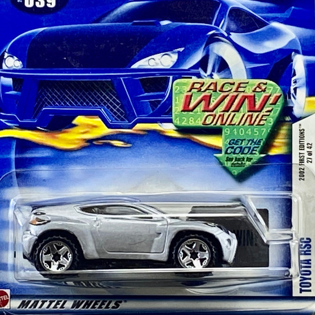 2002 Mainline First Edition / Toyota RSC / トヨタ RSC