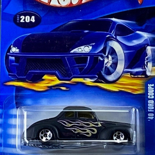 2002 HW Collector / 40 Ford Coupe / 40 フォード クーペ
