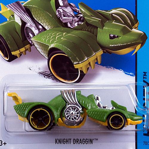 2014 HW CITY / Knight Draggin' (GRN) / ナイト ドラッギン