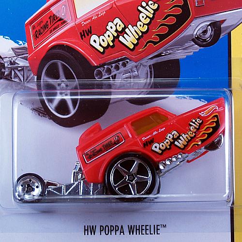 2014 HW OFF-ROAD / HW Poppa Wheelie (RED) / HW ポッパーウイリー