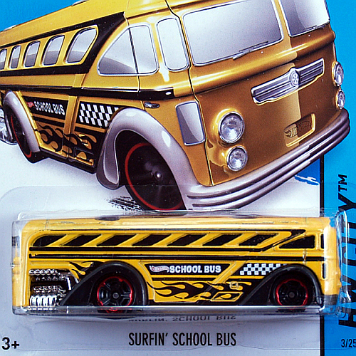 2014 HW CITY / SURFIN' SCHOOL BUS / サーフィン・スクールバス