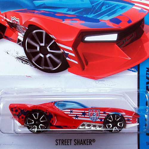 2014 HW CITY / Street Shaker (RED) / ストリート・シェイカー