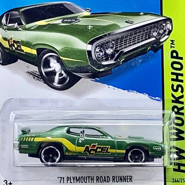 2014  Workshop / 71 Plymouth Road Runner / '71 プリモスロード ランナー