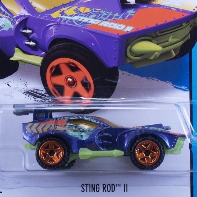 2014 HW CITY / Sting Rod II (PPL) / ステイング ロッド II