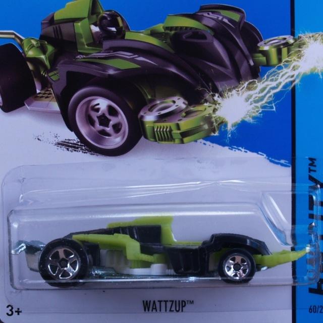 2014 HW CITY / Wattzup (BLK) / ワッタージップ