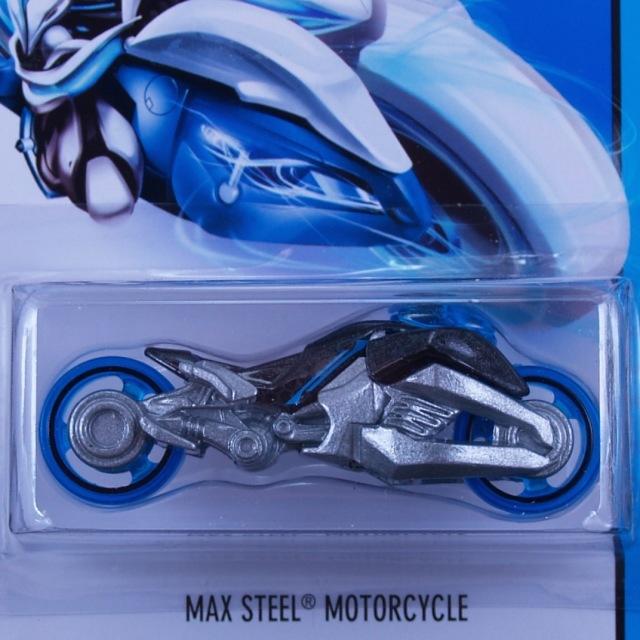 2014 HW CITY / Max Steel Motorcycle (BLU)