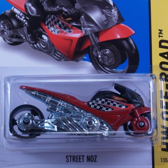 2014 HW OFF-ROAD / Street Noz (RED) / ストリート・ノズ