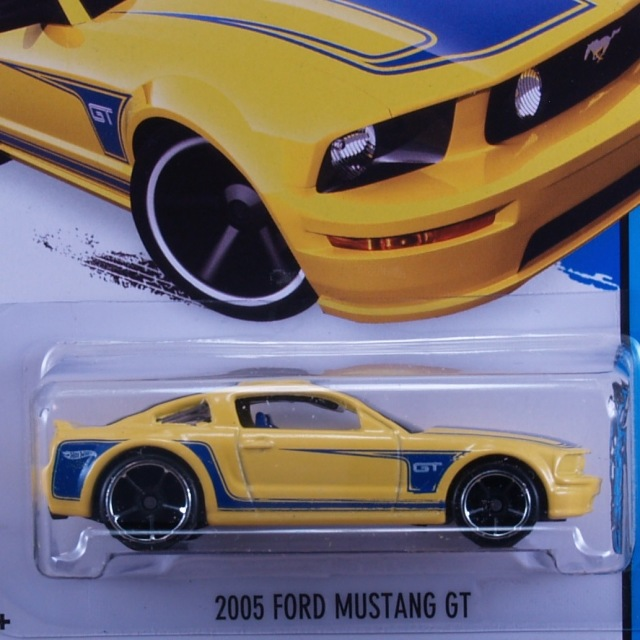 2014 HW CITY / 2005 Ford Mustang GT (YLW) / 2005 フォード・マスタング GT