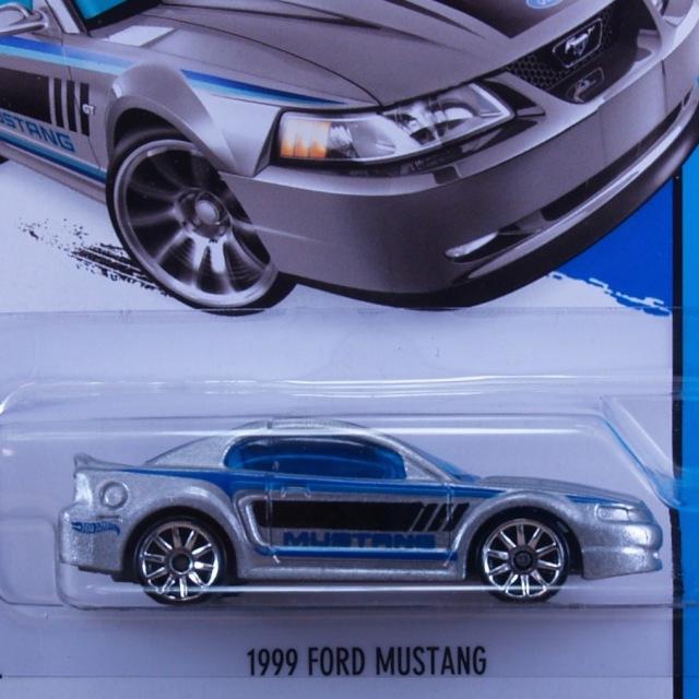 2014 HW CITY / 1999 Ford Mustang (SLV) / 1999 フォード・マスタング