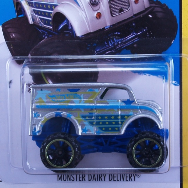2014 HW OFF-ROAD / Monster Dairy Delivery (SLV) / モンスター デイリー デリバリー