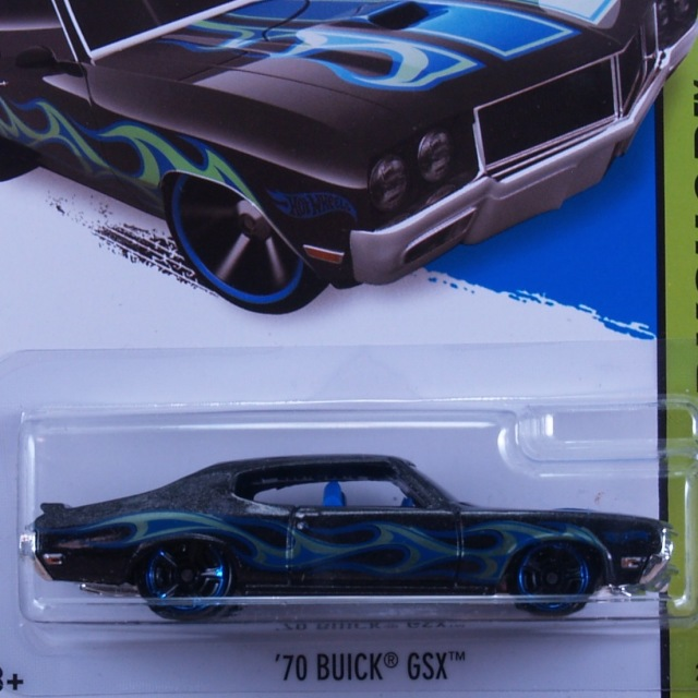 2014 HW WORKSHOP / '70 Buick GSX (BLK) / '70 ビュイック GSX