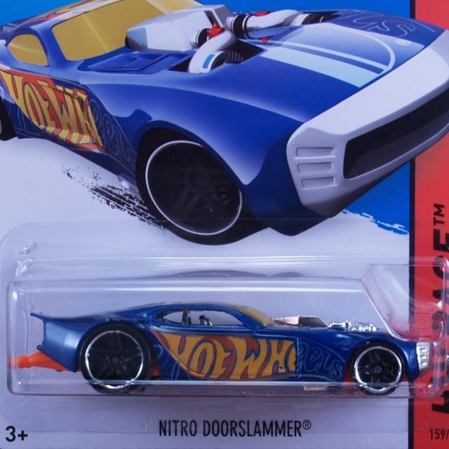 2014 HW RACE / Nitro Doorslammer (BLU) / ナイトロ・ドアスラマー