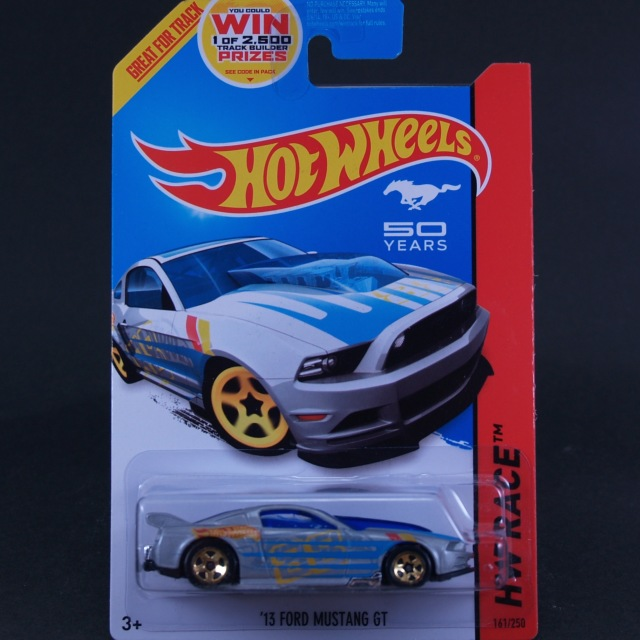 2014 HW RACE / '13 Ford Mustang GT (SLV) / '13 フォード・マスタングGT