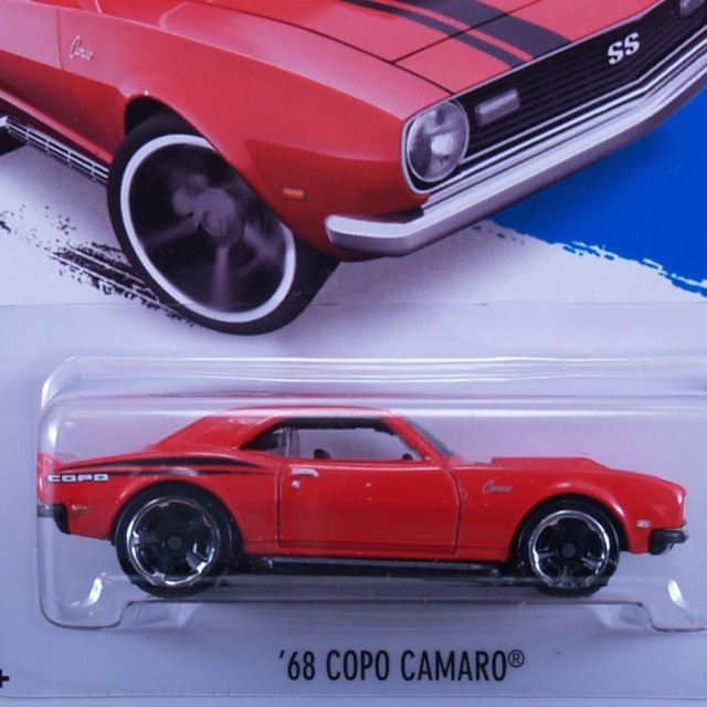 2014 HW WORKSHOP / '68 COPO Camaro (RED) / '68 コーポ・カマロ