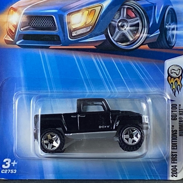 2004 HW First Editions / Hummer H3T / ハマー H3T