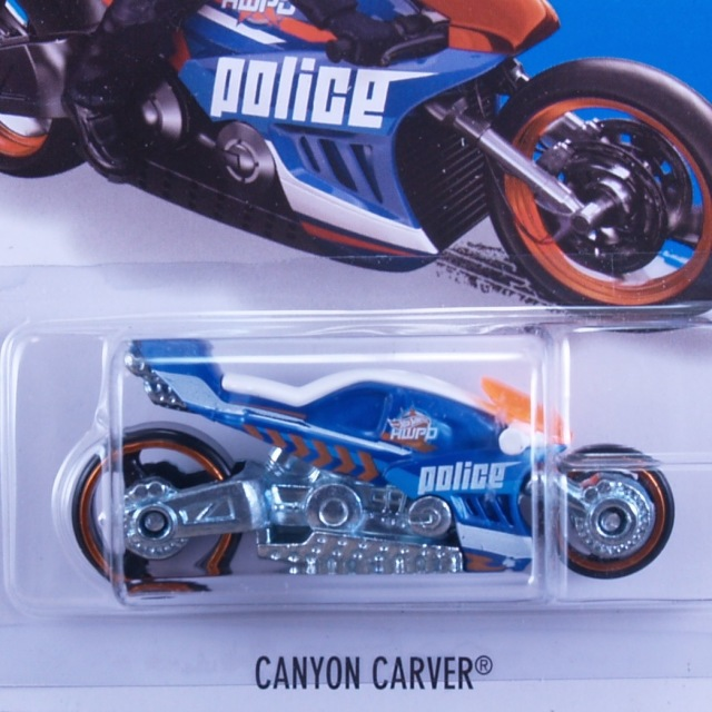 2015 HW Rescue / Canyon Carver (BLU) / キャニオンカーバー