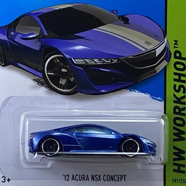2015 HW Workshop Speed Team / 12 Acura NSX Concept / 12 アキュラ NSX コンセプト
